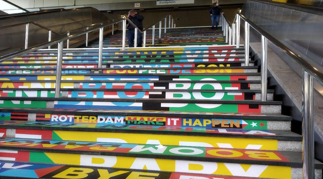 stairs metro